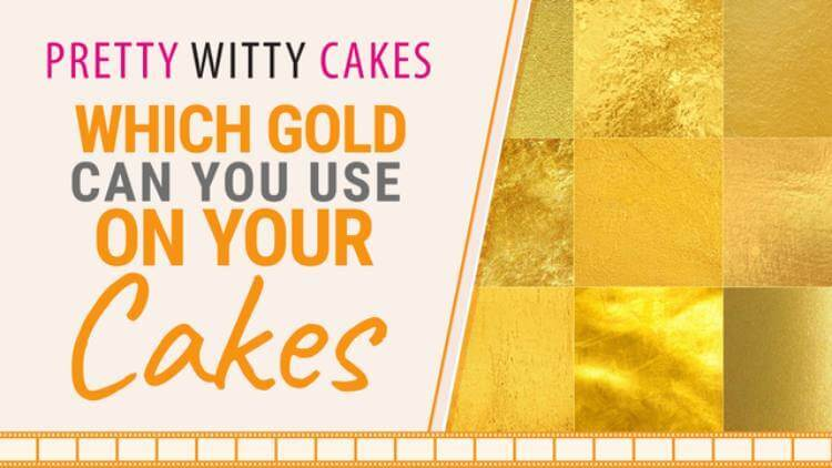 Which Gold can you use on your cakes?