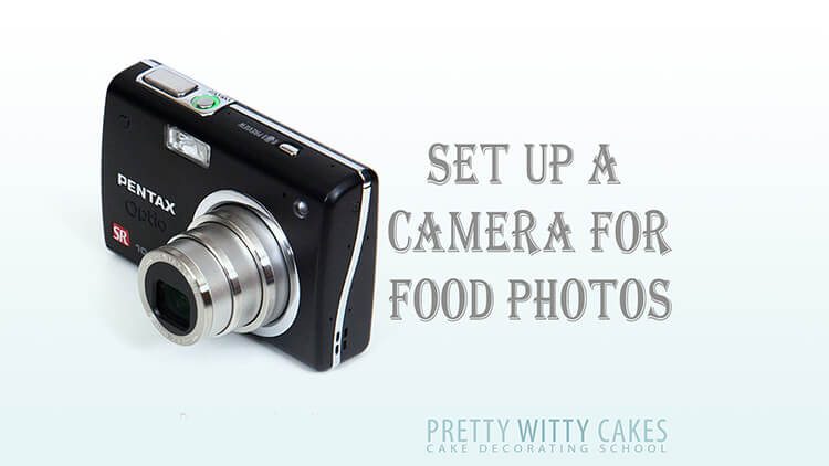 Set up a camera for food photos