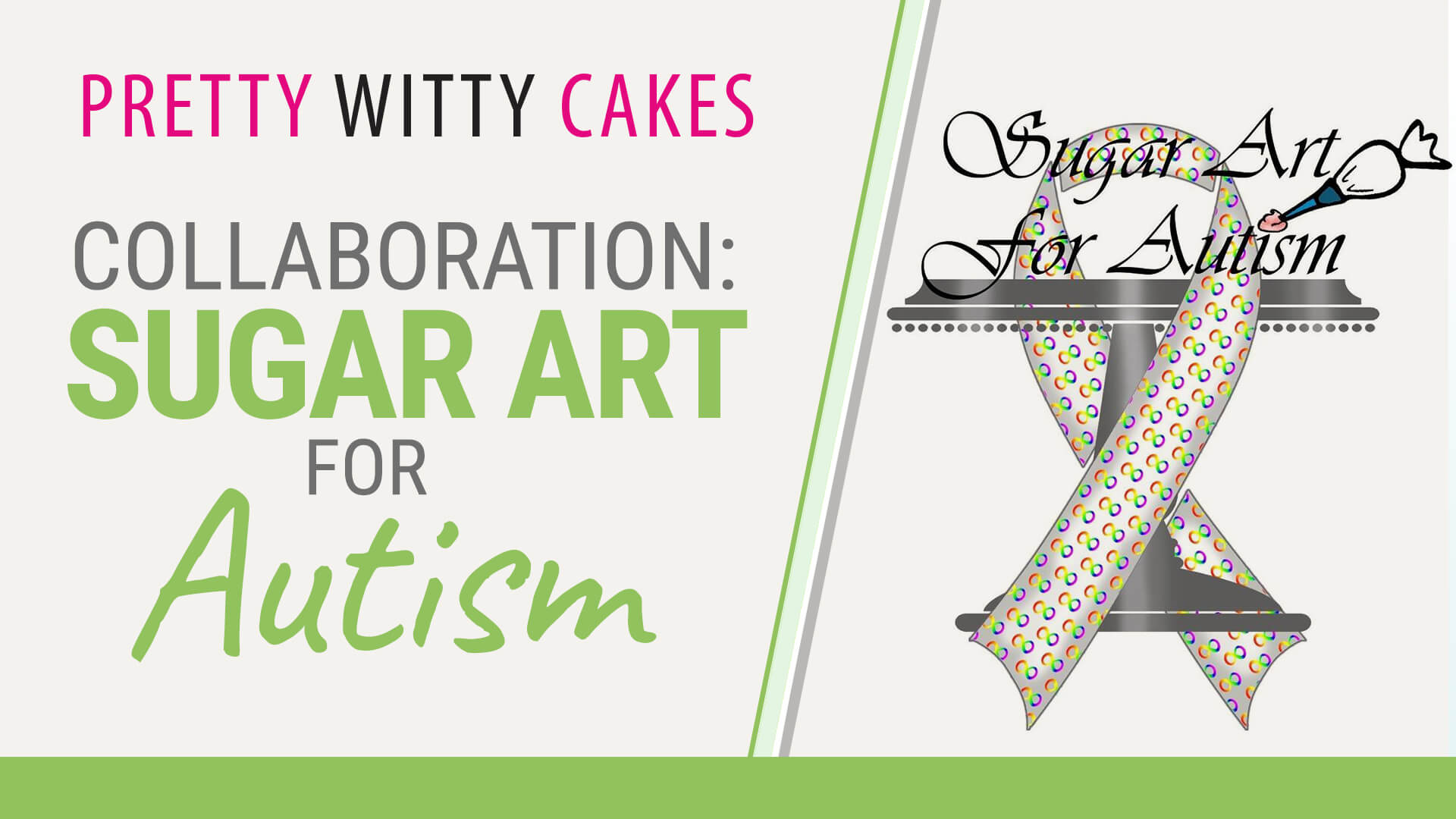 Collaboration: Sugar Art for Autism