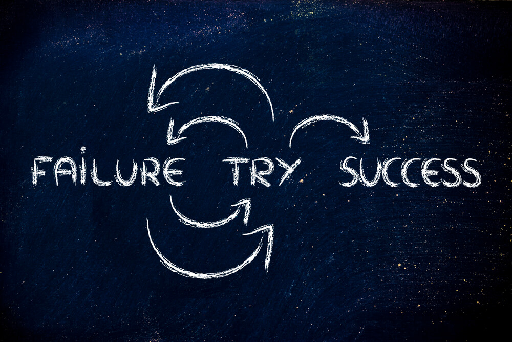 Failure, Try, Success