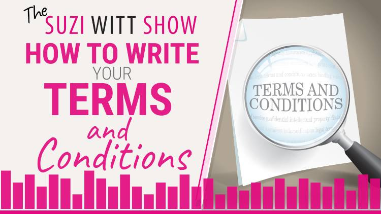 How to write your own terms and conditions for your business