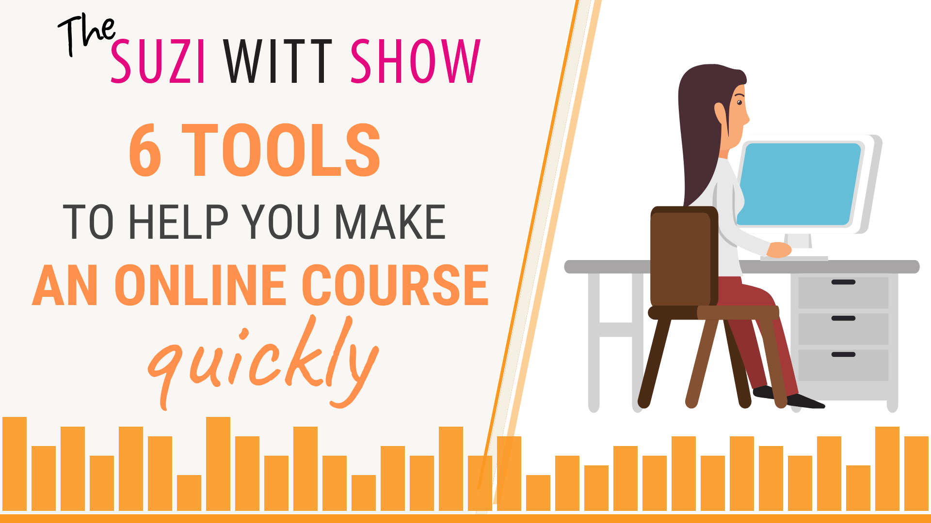 6 tools to create an online course quickly