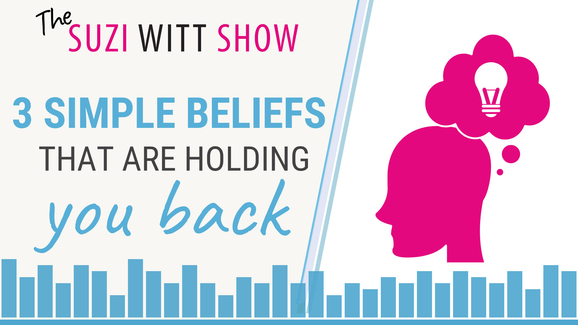 3 Simple Beliefs that are Holding You Back