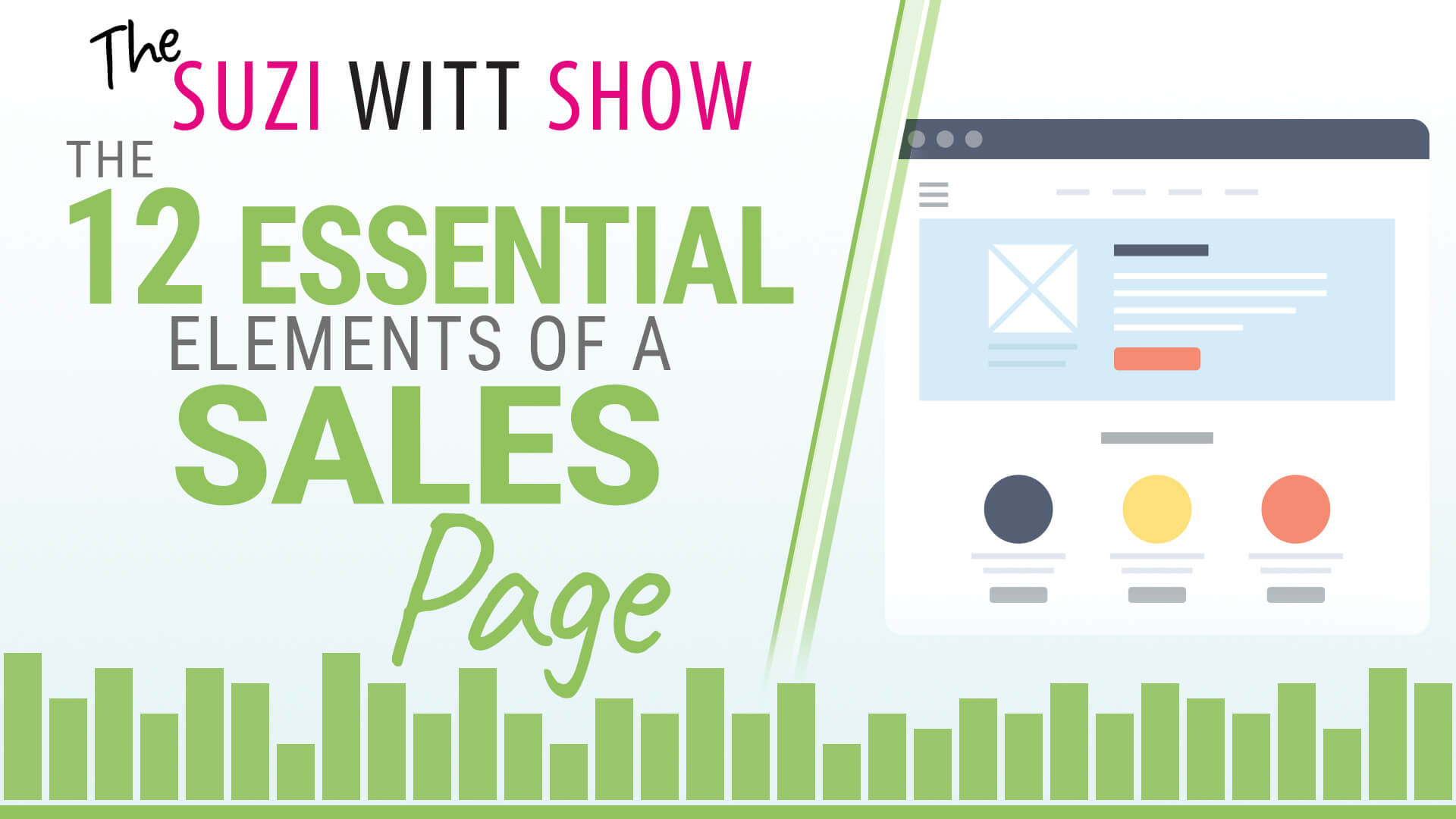 12 Essential Elements to a Sales Page