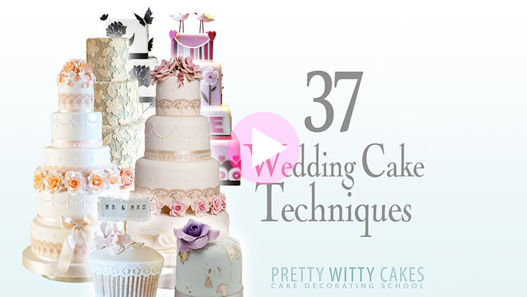 37 Wedding Cake Techniques