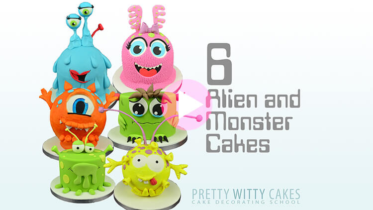 Alien and Monster Cakes