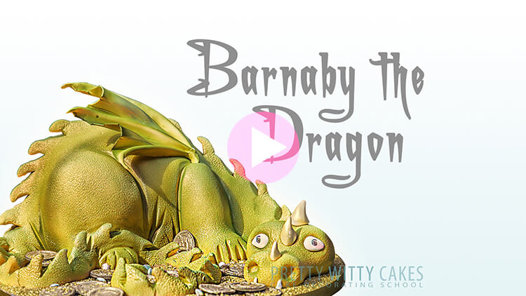 Barnaby the Dragon Cake