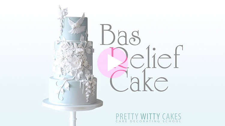 Bas Relief on Cakes