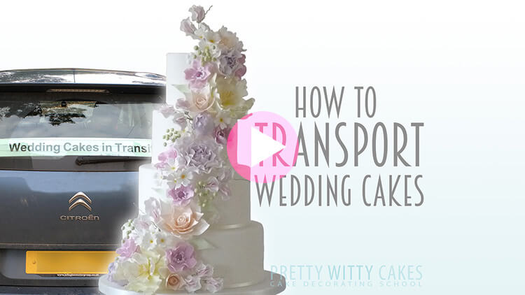 How to Transport Wedding CakesCauldron cake at Pretty Witty Academy