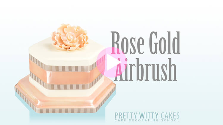 Rose Gold Airbrush
