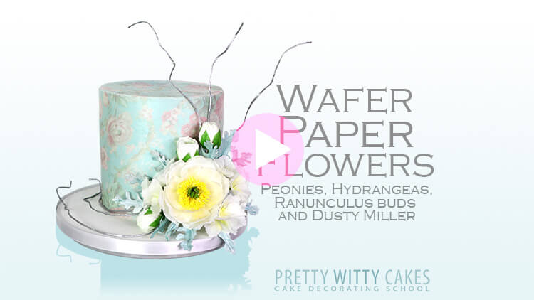 Wafer Paper Flowers