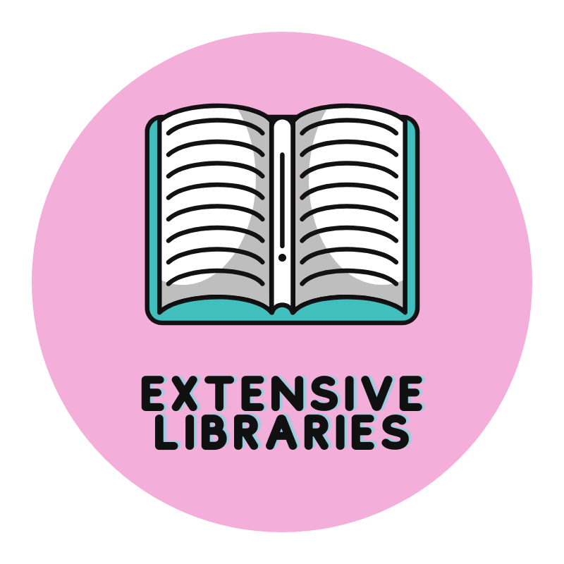 extensive cake libraries